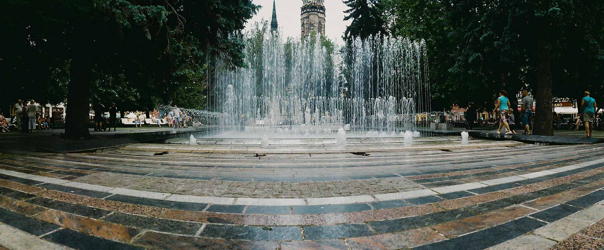 Fountain Panorama